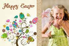 free easter card templates photoshop free photo templates easter day card 1