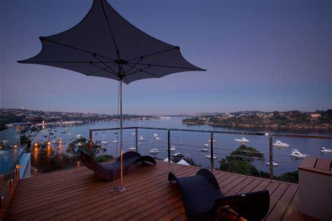 stunning outdoor living area bicton house  perth australia