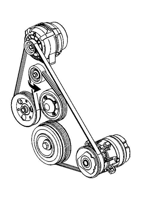 Belt Diagram: I Need a 2008 Grand Prix Serpentine Belt