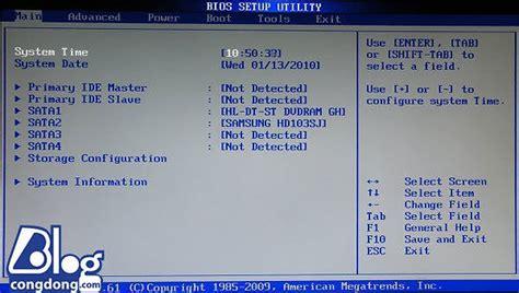 Menu Boot Cua Laptop Asus ph 237 m tắt v 224 o bios v 224 boot của m 225 y laptop asus dell vaio hp