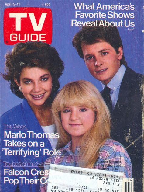 cast of quot family ties quot on tv guide magazine covers