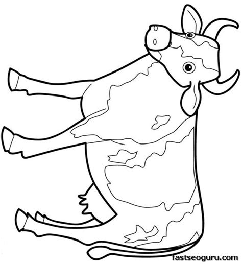 printable farm animal images printable animal farm cow coloring page printable