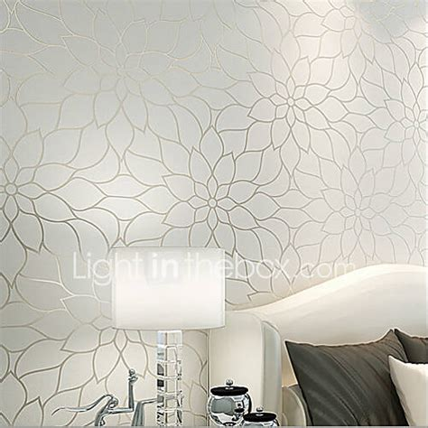 rainbow contemporary wallpaper floral simple