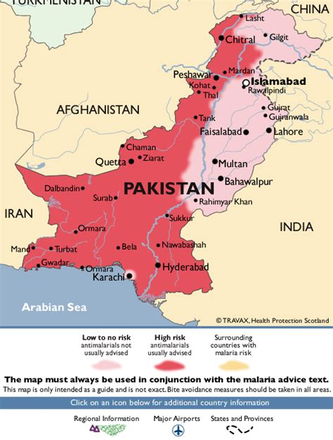 middle east malaria map pakistan malaria map fit for travel