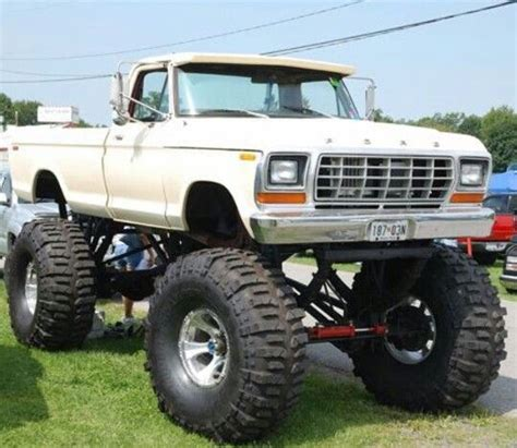 nice    west coast mirrors lifted ford