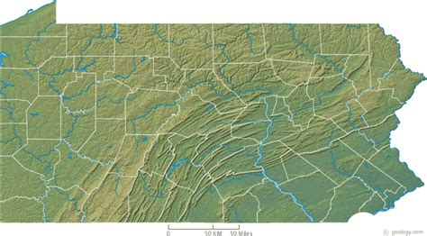 map  western pennsylvania counties  cities  travel