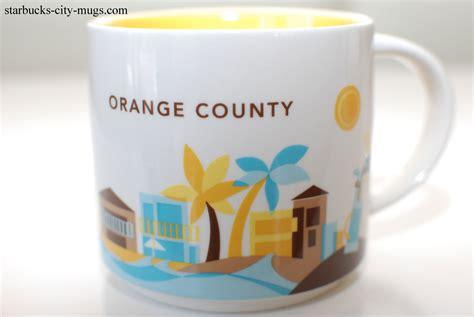 starbucks 2013 california you are orange county starbucks city mugs