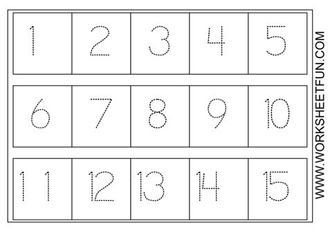 free printable kindergarten numbers free printable preschool worksheets age 4 and worksheets