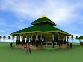 desain gambar masjid gambar desain masjid minimalis modern contoh rumah