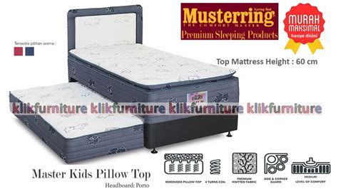 Set 160x200 2in1 Master Pillow Top Porto Musterring 2in1 master pillow top porto musterring toko furniture yenz