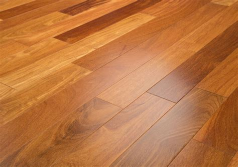 "Cumaru 3 1/4"" Clear Prefinished Brazilian Teak Hardwood"