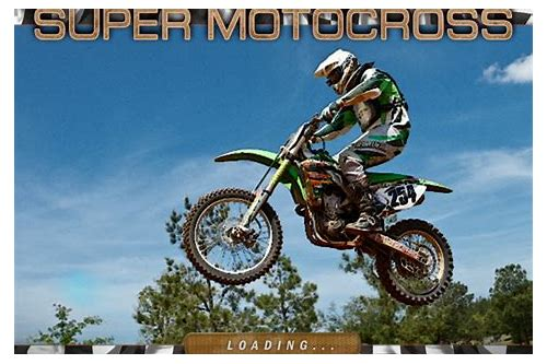 descargar la version completa de super motocross deluxe