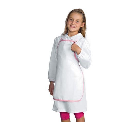 tablier cuisine pour enfant tablier 224 bavette blanc et liser 233 pour enfant pas