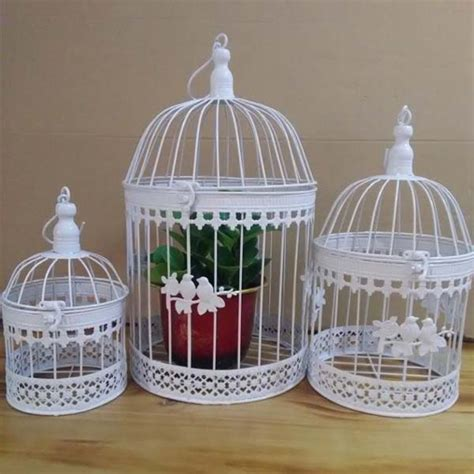 iron bird cage wall birdcage flower decoration fashion