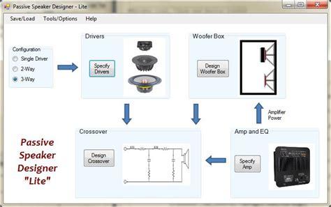 audio video layout software psd lite beta 2 techtalk speaker building audio video