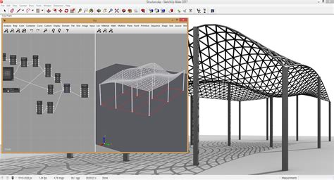 pattern sketch plugin viz parametric modeling for sketchup