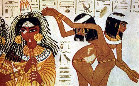 hair in egypt people and technology used in creating proof of hair extensions among ancient egyptians