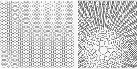 voronoi pattern meaning how to merge a hexagonal pattern with a voronoi pattern