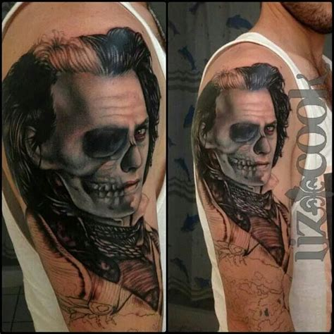johnny depp raven tattoo 137 best great tattoo work images on pinterest