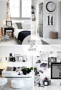black and white home interior black and white decor casual cottage