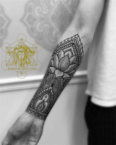 inner arm tattoos pain henna style right inner forearm artist