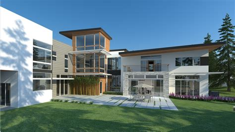 home design  architectural rendering civil