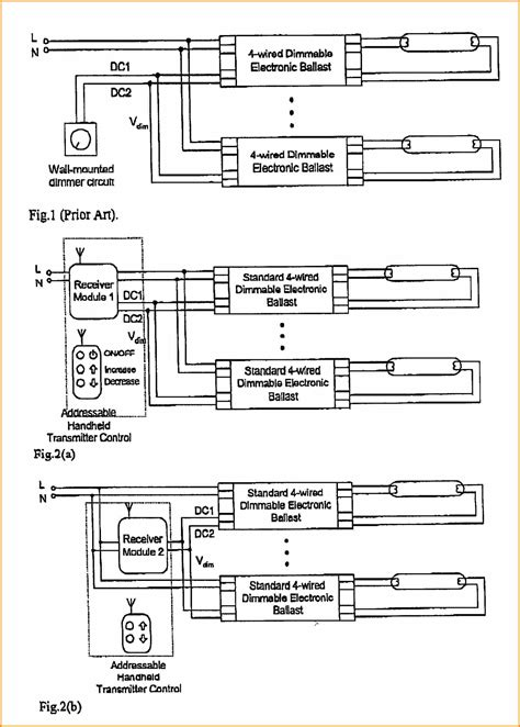 dimming ballast wiring diagram  wiring diagram