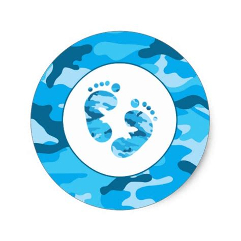 Blue Camo Baby Shower Decorations by Blue Camouflage Baby Shower Gifts T Shirts Posters