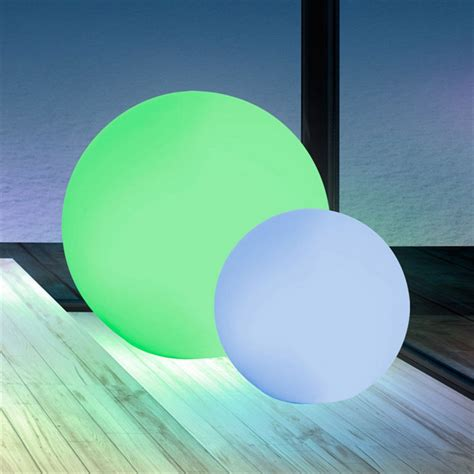 color changing led glow ball   garden winds