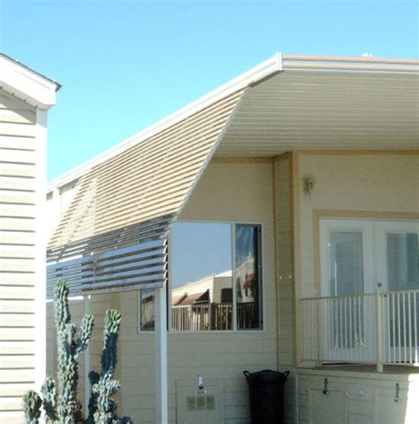 Awning Post by Flex Pan Sunshade