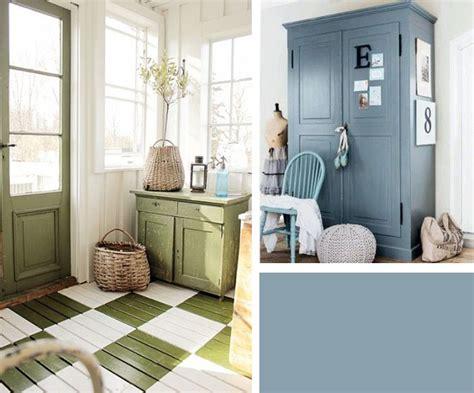 Interieur Blauw Grijs by Een Landelijk Interieur M 233 T Kleur Makeover Nl