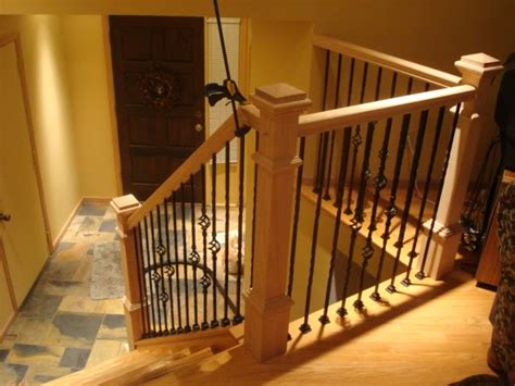 works by lucas prefab iron banister installation