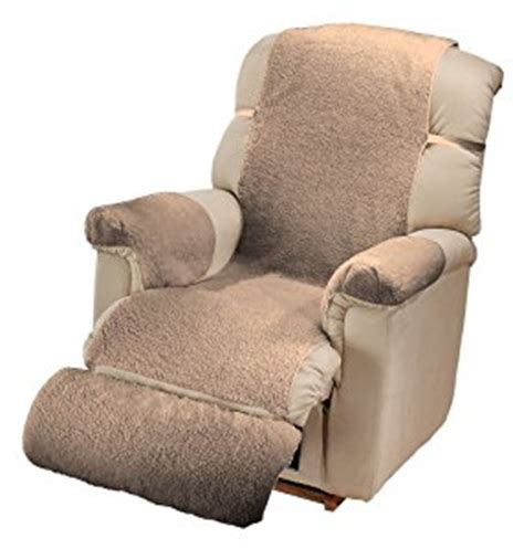 recliner chair arm covers com sherpa recliner cover by miles kimball