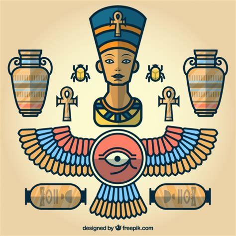 descargar imagenes egipcias gratis elementos de dibujos animados egipcio descargar vectores