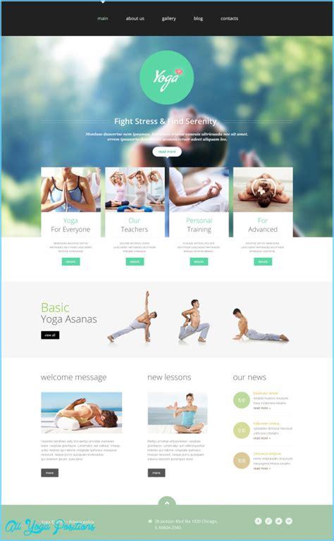 website templates for yoga teachers web design for yoga teachers and studios all yoga