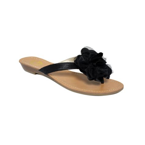 g by guess sandals g by guess rosiest sandals in black lyst