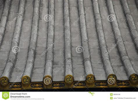 japanese roof pattern roof pattern japan stock photo image 38936158