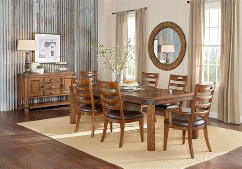 rustic solid wood 5 drawer traditional dining room buffet solid oak dining room furniture 6 piece dining room