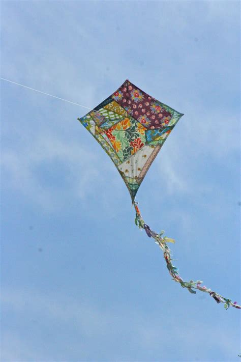 Kite Handmade - quilted kite kites