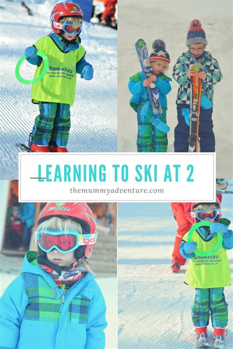 1 year skiing the adventure of parenthood learning to ski at 2 and 4