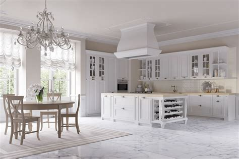 Stile Country Chic by Cucine Eleganti Barocche Cucine Bianche Country Chic