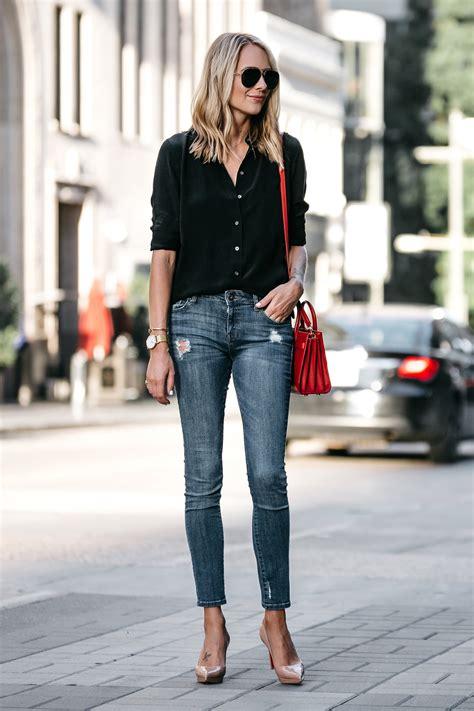 Black Fashion Shirt how to style a black button up shirt fashion jackson