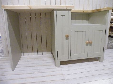 Handmade Kitchen Units - handmade kitchen belfast butler sink unit with open