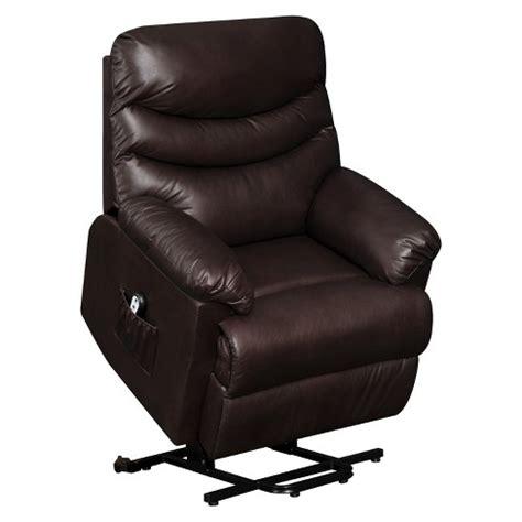 Recliner Chair Target Renu Lift Wall Hugger Power Recliner Brown Leather