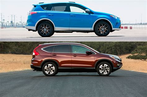 Honda Crv Vs Toyota Rav4 2016 Honda Cr V Reviews And Rating Motor Trend