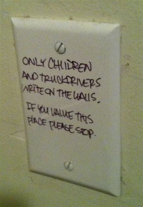 funny bathroom writing 20 passive aggressive bathroom notes pleated jeans