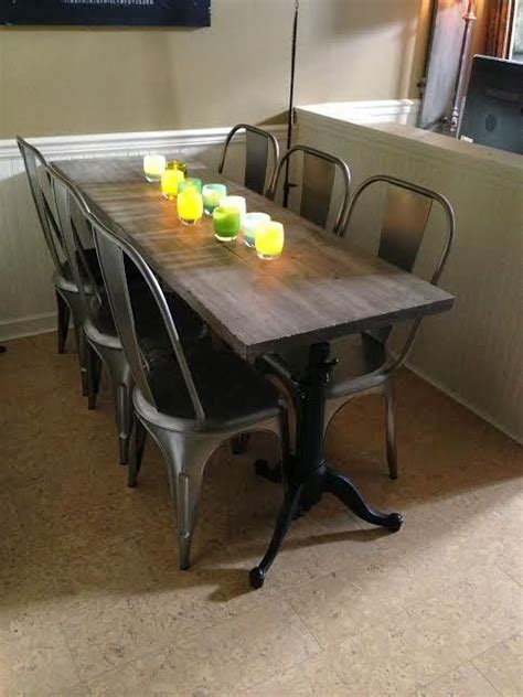 skinny dining room table sets the 25 best narrow dining tables ideas on pinterest