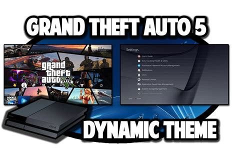 Gta 5 Ps4 Themes | ps4 themes grand theft auto 5 dynamic theme video in