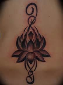 Lotus Flower Tribal Black And Grey Lotus Flower Memes