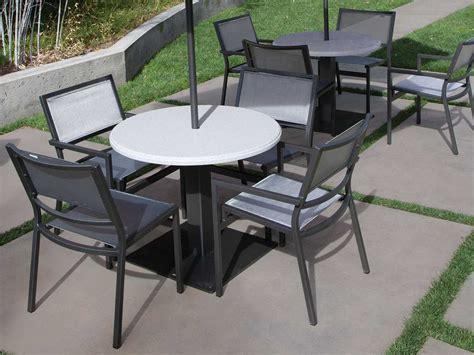 patio table tops tropitone stoneworks faux granite table tops fg42r